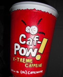 Caf-Pow Calories
