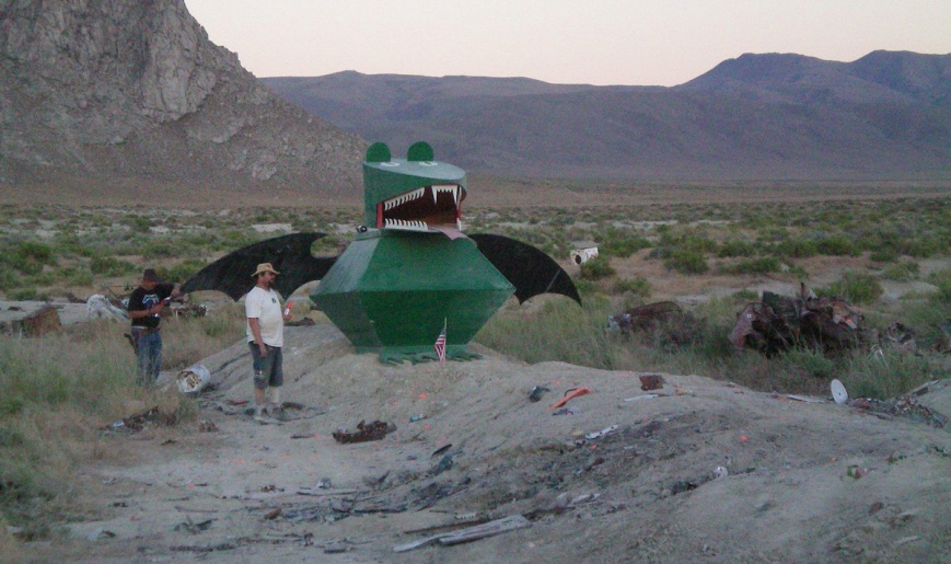 Frogbat at 4th of Juplaya