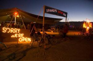 Spanky's Wine Bar: Burning Man