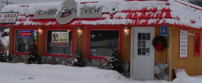 Northern Michigan location of Cabin Fever