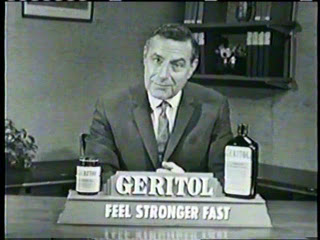 Geritol ad courtesy of Welk Family blog at Blogspot