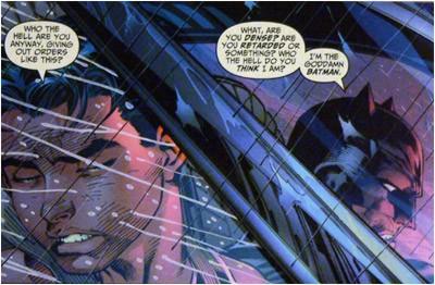 I'm the goddmaned Batman