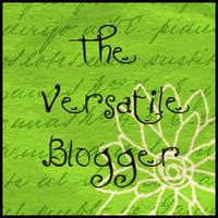 Most Versatile Blogger Award