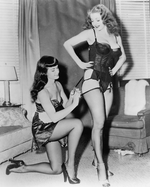 Bettie Page corset