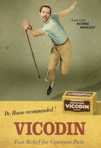 House MD Vicodin ad